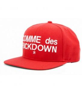 Sapca Comme Des Fuckdown Red