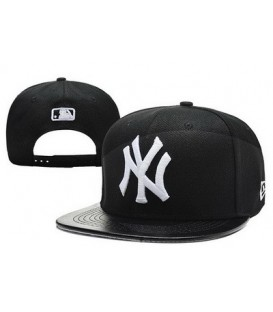 Sapca New Era Snapback New York Yankees Leather