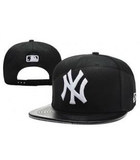 Sapca New Era Snapback New York Yankees Leather Logo