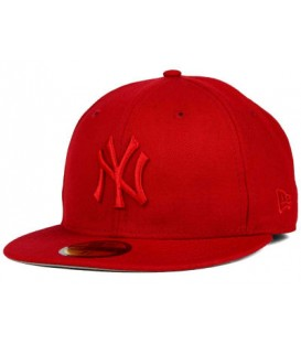 Sapca New Era New York Yankees Red Logo Fullcap