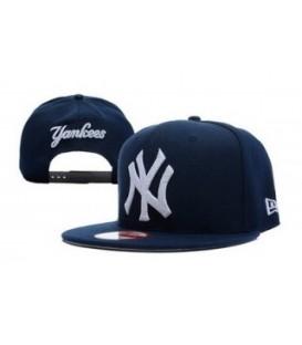 Sapca New Era Snapback New York Yankees Leather