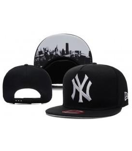 Sapca New Era Snapback New York Yankees City Black