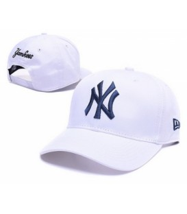 Sapca New Era New York Yankees White Stretch