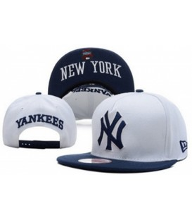 Sapca New Era Snapback New York Yankees White