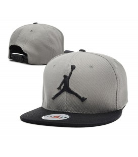 Sapca Jordan Grey Black
