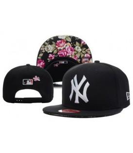 Sapca New Era Snapback New York Yankees Flowers