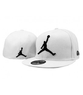 Sapca New Era Jordan White Fullcap