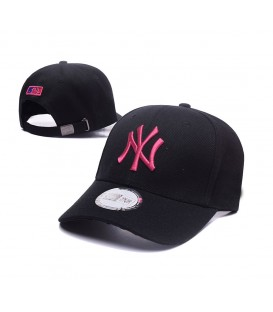 Sapca MLB New York Yankees Black Pink Stretch