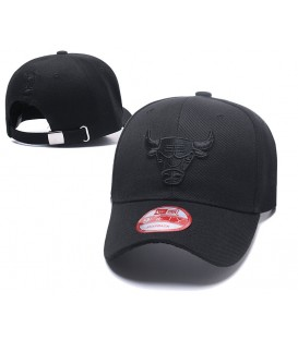 Sapca Chicago Bulls Black Stretch