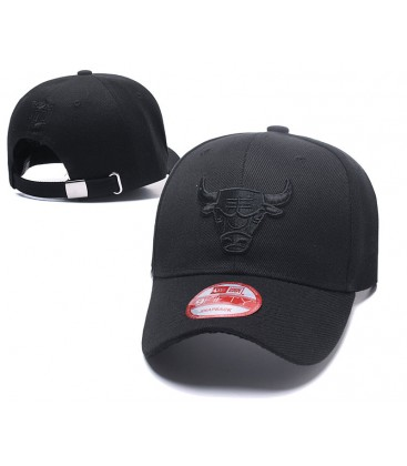 Sapca Chicago Bulls Black Stretch