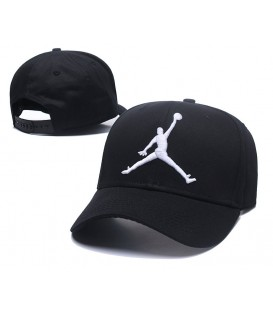 Sapca Jordan Black Stretch