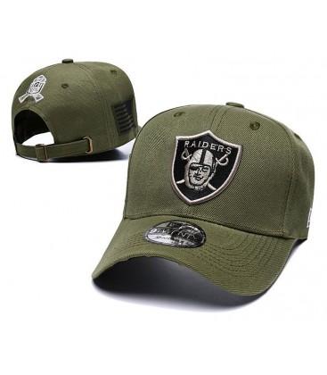 Sapca New Era Oakland Raiders Green Stretch