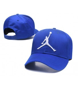 Sapca Jordan Blue Stretch