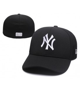 Sapca New Era New York Yankees Black Stretch Fit