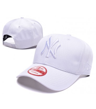 Sapca New Era New York Yankees White Mono Stretch