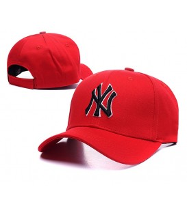 Sapca New York Yankees Red 2 Stretch