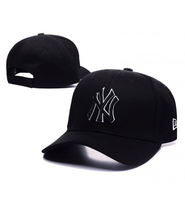 Sapca New Era New York Yankees Stretch Black-White