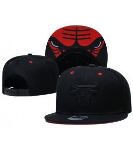 Sapca New Era Chicago Bulls Black Mono