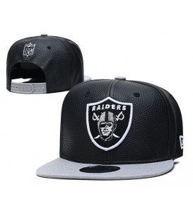 Sapca New Era Oakland Raiders Leather