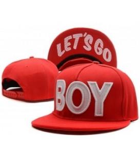 Sapca Boy Let`s Go Red