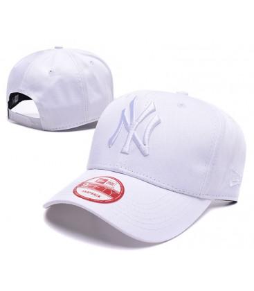 Sapca New Era New York Yankees White Mono Stretch