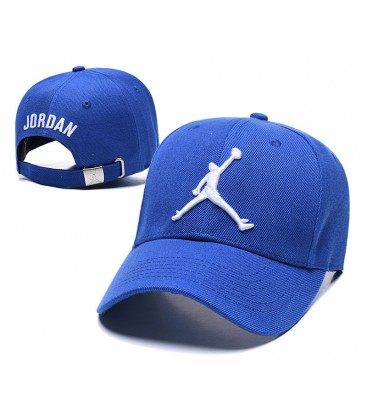 Sapca Jordan Blue Stretch 2